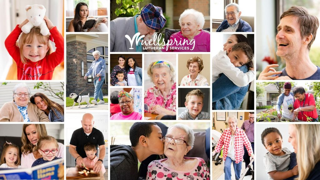 Wellspring Lutheran Services Collage